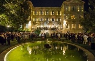 15. İstanbul Bienali'nin açılış töreni Fransa...