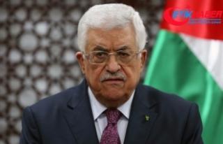 """Filistin Devlet Başkanı Abbas'ın """"sürpriz""""..."""