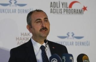 Adalet Bakanı Gül: Hiçbir organda illegal yapıya...