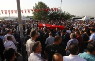 AK Parti Gaziantep Milletvekili Yüksel son yolculuğuna...