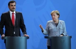 Almanya Başbakanı Merkel'den Katar açıklaması