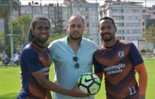 Amatör lig takımına Brezilyalı iki forvet