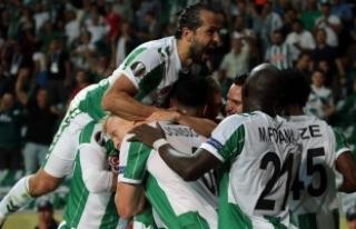 Atiker Konyaspor'dan UEFA Avrupa Ligi'nde...