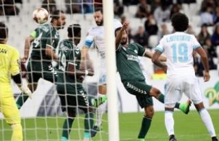 Atiker Konyaspor deplasmanda Marsilya'ya yenildi