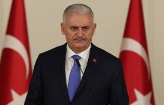 Başbakan Yıldırım'dan Talabani için taziye...