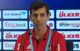Beşiktaş Antrenörü Çiçek: Seyredenler açısından...