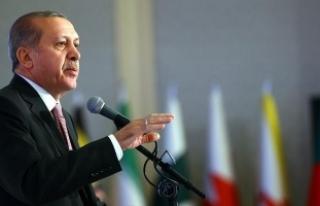 Cumhurbaşkanı Erdoğan: Darbeciler ellerine kan...