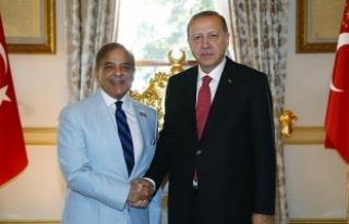 Cumhurbaşkanı Erdoğan, Pakistan Pencap Eyalet Başbakanını...