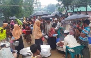 Endonezya'dan Arakanlı sığınmacılara 34 ton...