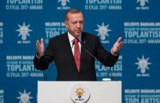 Erdoğan: Anamuhalefet ülkesini yabancılara şikayet...