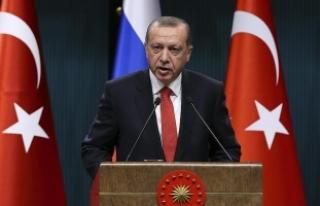 Erdoğan: Irak ve Suriye'nin toprak bütünlüğü...
