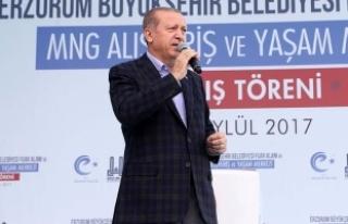 Erdoğan: Kaynayan kazan kapak tutmaz, bunu böyle...