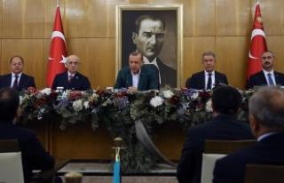 Erdoğan: TEOG'un kaldırılması için bir mani...