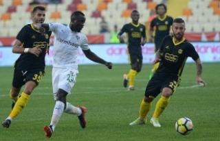 Evkur Yeni Malatyaspor düşüşte