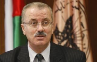 """Filistin Başbakanı Hamdallah: """"Gazze ve Batı..."""