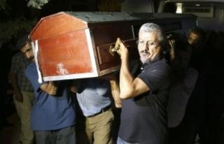 HDP'li Tuğluk'un annesinin cenaze törenindeki...