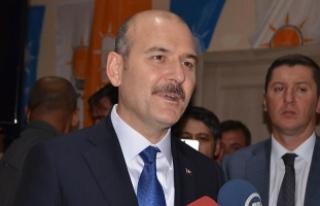 """İçişleri Bakanı Soylu: """"Milletin kararına ve..."""