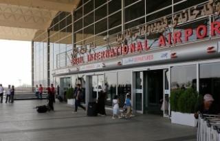 IKBY'deki havalimanlarında uçuşların durdurulması...