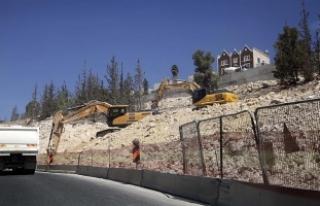 'İsrail'in yasa dışı yerleşim faaliyetleri...