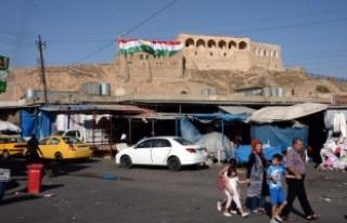 Barzani canına susamış: Kerkük Kalesi'ne...