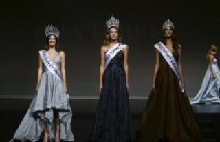 Miss Turkey 2017 Yarışması'nda kraliçe seçilen...