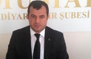 MÜSİAD Diyarbakır Şube Başkanı Şanlı'ya...