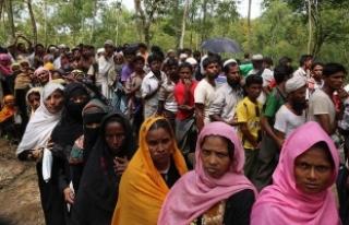 Myanmar'daki şiddet olayları nedeniyle insani...