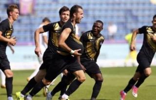 Osmanlıspor ligdeki ilk galibiyetini elde etti
