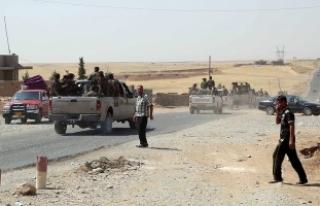 Terör örgütü DEAŞ Rakka'da karşı saldırıya...