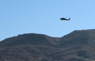 Saldırı hazırlığında 2 PKK'lı terörist...