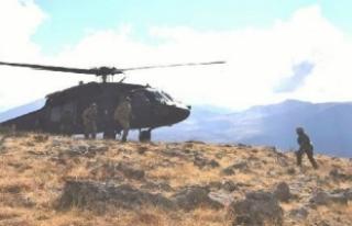 Şırnak'ta operasyon: 6 terörist etkisiz hale...