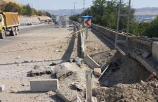 Tunceli'de olası facia önlendi
