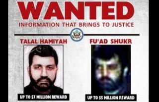 ABD Hizbullah'ın iki komutanı için 12 milyon...