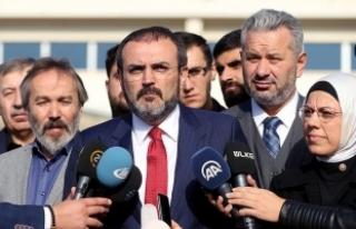 AKP'li Ünal: Darbeciler adalet önünde hesap...