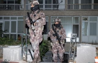Ankara'da terör örgütü DKP/BÖG'e yönelik...