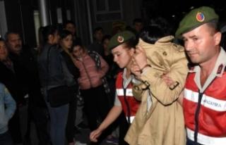 Aranan PKK şüphelisi samanlıkta yakalandı