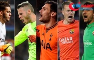 Avrupa liglerinde en az gol yiyen file bekçileri