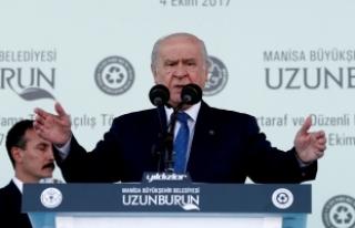Bahçeli: Türkiye, meşru müdahale hakkını her...