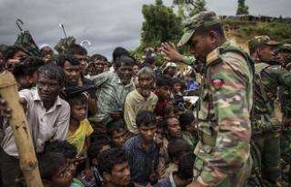 Bangladeş'e sığınan Arakanlı Müslümanların...