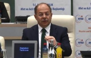 """Başbakan Yardımcısı Akdağ, """" İstanbul afet..."""