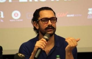 Bollywood yıldızı Aamir Khan: Türkiye'ye geldiğim...