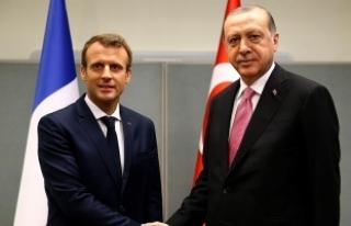 Cumhurbaşkanı Erdoğan, Fransa Cumhurbaşkanı Macron...