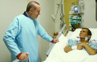 Cumhurbaşkanı Erdoğan, Naim Süleymanoğlu'nu...