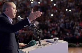 Cumhurbaşkanı Erdoğan: Nerede bize yönelik taciz...
