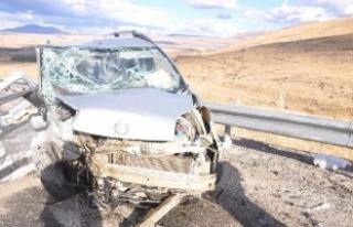 Elazığ'da kaza: 11 yaralı