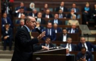 Erdoğan: Ayrışırsak dağılırız, dağılırsak...