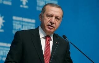 Cumhurbaşkanı Erdoğan: 'Minderden kaçan biz...