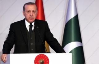 Erdoğan: Kur baskısı altında ekonomimizi eritmeye...
