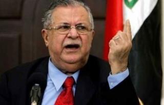 Eski Irak Cumhurbaşkanı peşmerge Celal Talabani...