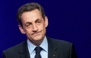 Fransa'nın eski Cumhurbaşkanı Nicolas Sarkozy...